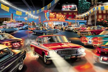 Www Americanautoart Com Chevy Impala Chevy Monte Carlo Artwork