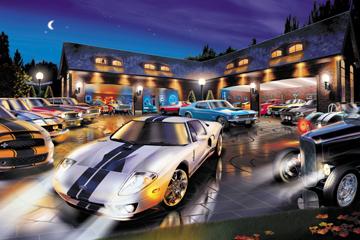 Www Americanautoart Com Ford Fairlane Flash Back Artwork