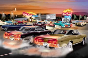 Www Americanautoart Com Pontiac Gto Artwork Prints By