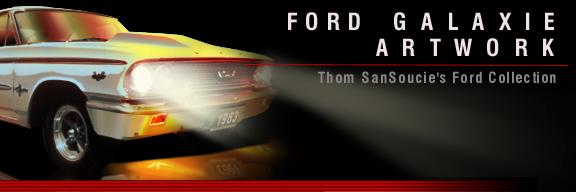 www AmericanAutoArt com 1962-1967 Ford Galaxie Flash Back Artwork
